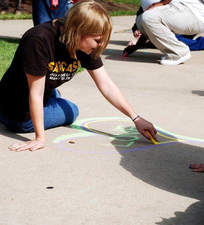 CHALK4PEACE '09 St. Louis Community College, Florissant Valley