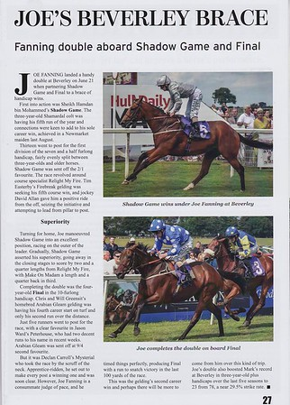 Kingsley Klarion Magazine (Mark Johnston Racing)
