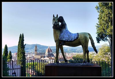 Florence -Villa Bardini, Costa San Giorgio