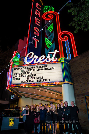 1000 Kisses Deep: 2016-The Songs of Leonard Cohen-Crest Theater, Sacramento