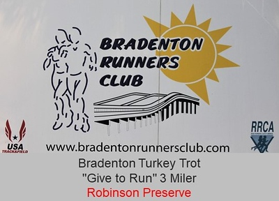 Bradenton Runners Club 2019 Turkey Trot