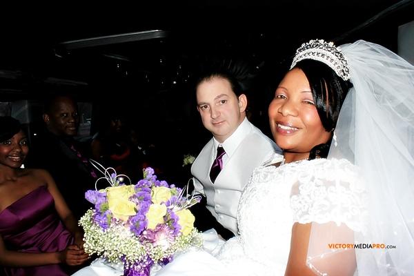 Nellia and Wandell Wedding Day