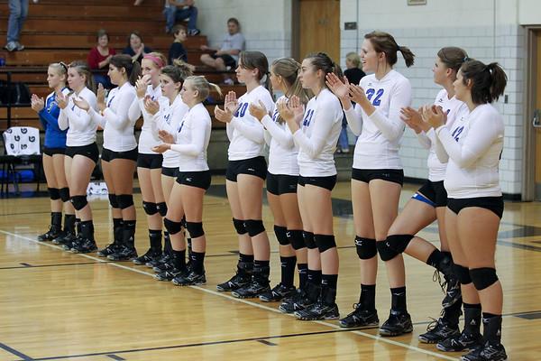 Auburn vs Radford Varsity Volleyball - 10-18-2011