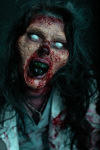 DementedFX Haunted House Studio Horror Zombie Pinup Portrait Photos Commercial Website Promotional Business Photography