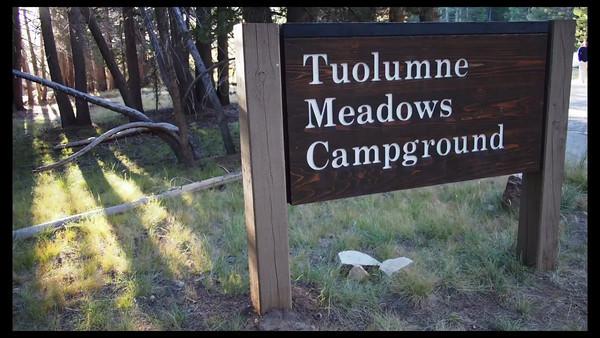 Bob @ Tuolumne Campground,   Lake Tenaya & Olmsted Point 8-30-13