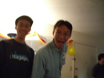 2005.08.22 Mon - Early Rhonda Mar's 24th birthday surprise