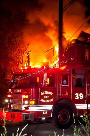 6396 Hazelet Vacant Dwelling fire