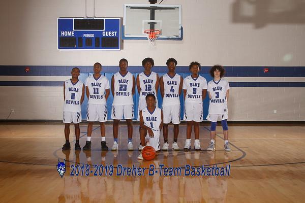 2018-2019 BTeam Basketball