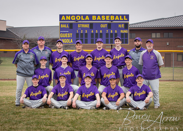 Baseball Team Photo 2015