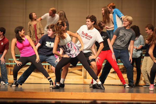Footloose Rehearsal - Thursday