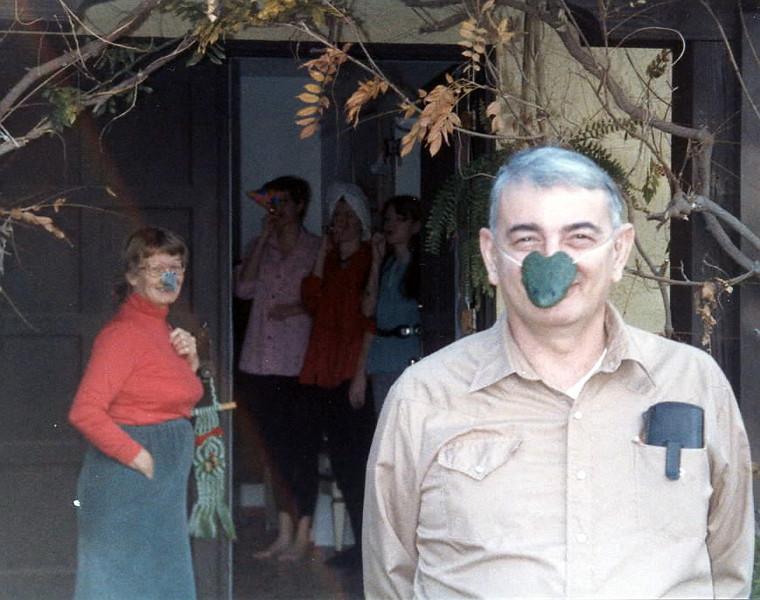 1986 Christmas morning