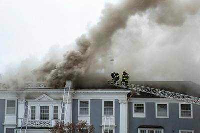 4 + Alarm Structure Fire - Fairhaven Hill Rd, Concord, MA - 12/27/19