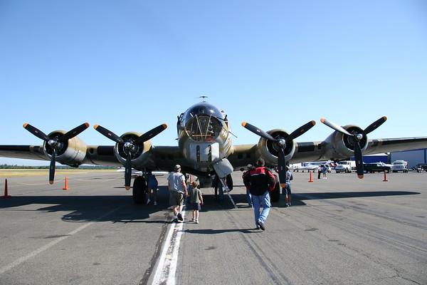 2006_06_30 WWII B-17 Flying Fortress Bomber ~ Gig Harbor WA