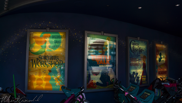 Disneyland Resort, Disney California Adventure, Hollywood Land, Animation, Building, Turtle, Talk, Crush, Poster, Finding, Dory