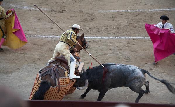 Madrid Bull Fight - May 2011
