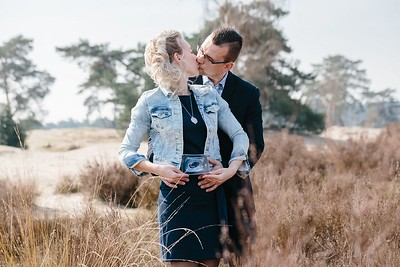 Marit en Bart | Love-shoot Soesterduinen