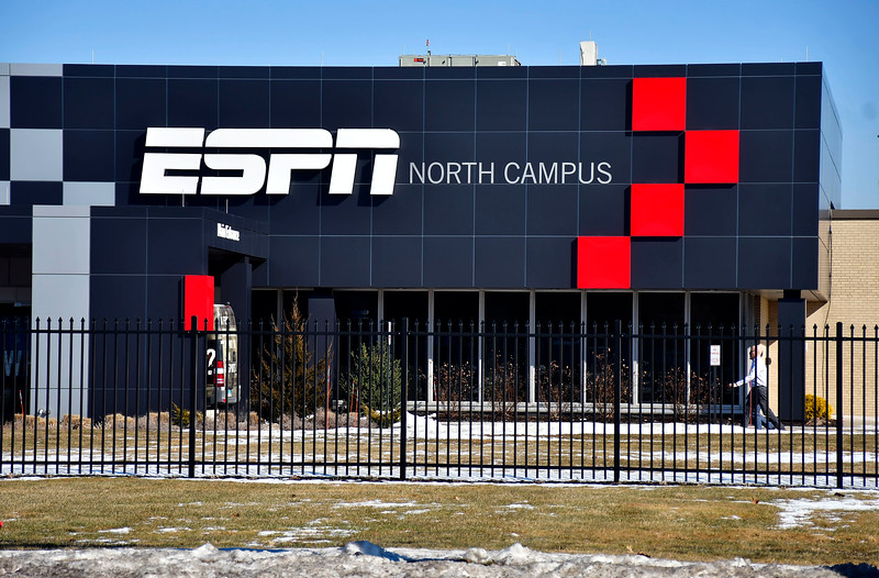 2/4/2019 Mike Orazzi   Staff ESPN's North Campus on Middle Street in Bristol.