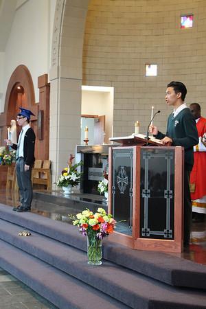 Graduation Transition Mass 2014