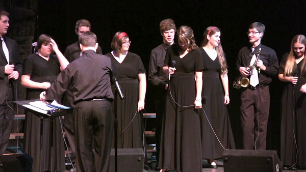 Jessica featured in Jazz Choir Winter Concert 12-15-10