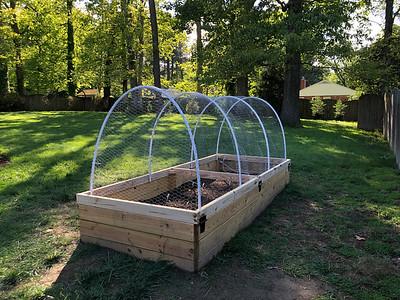 2020 Hinged Hoop House Raised Garden Bed