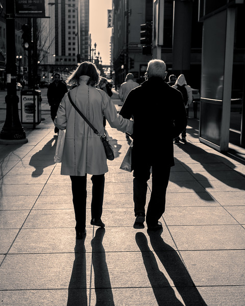 A lovely walk together