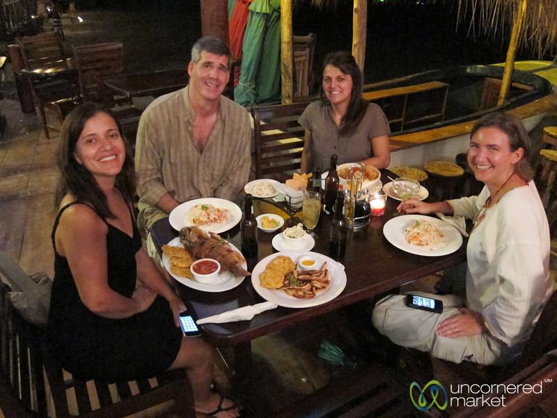 Dinner on the Beach in San Juan del Sur - Nicaragua