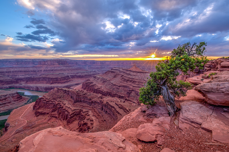 Sunset Dead Horse Point State Park