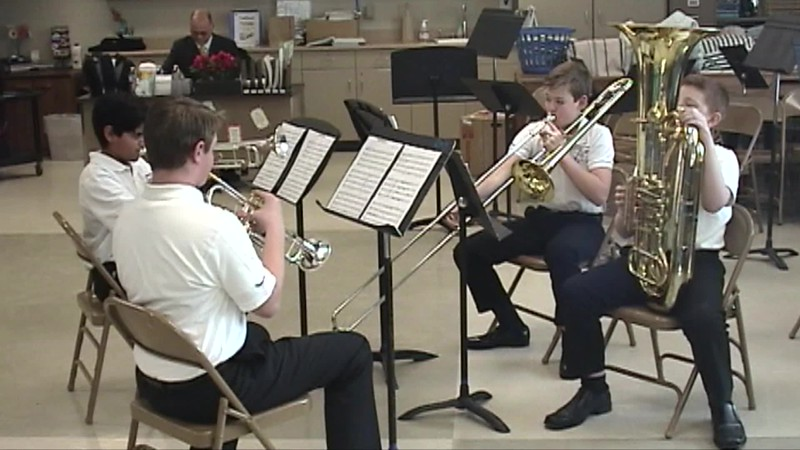 Brass Quartet - Solo & Ensemble - 8th Grade.mp4