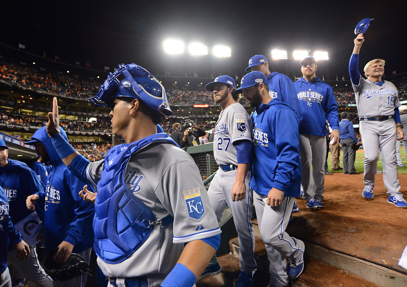 Royals-Giants World Series Game  San Francisco workout