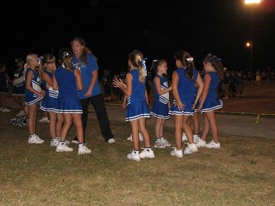 2007 September - Katherine's Cheerleading Squad