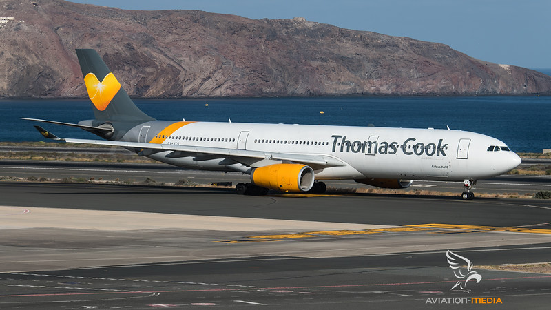 Thomas Cook Scandinavia / Airbus A330-343 / OY-VKG
