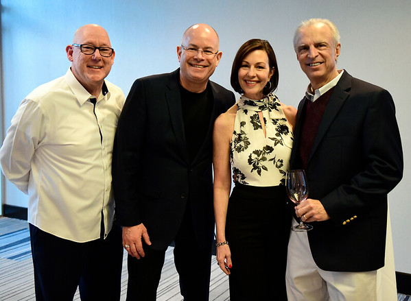 3/23/2019 Mike Orazzi | Staff Bristol Hospital's Mike Adams, Kurt Barwis, Mary Lynn Gagnon, and Dr. John Walker during the Bristol Hospital Development Foundation's annual Festival of Wine and Spirits held at the DoubleTree by Hilton Hotel in Bristol Saturday night.
