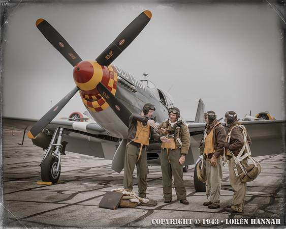 WWII Re-Enactors