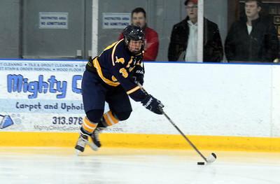 HS Sports - Grosse Ile vs. Allen Park Cabrini Hockey 19