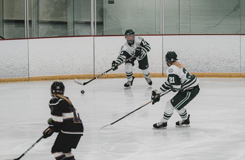 Holy Family Varsity Girls Hockey vs. Waconia, 1/9/20: Ella Knewtson '23 (11)