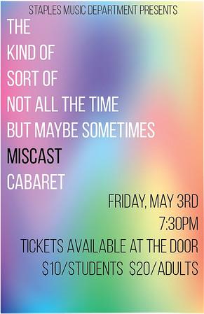 2019 Miscast Cabaret - Staples High School