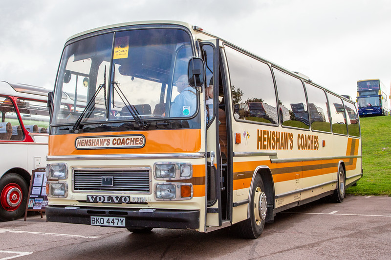 1982 Volvo B10M with Plaxton body