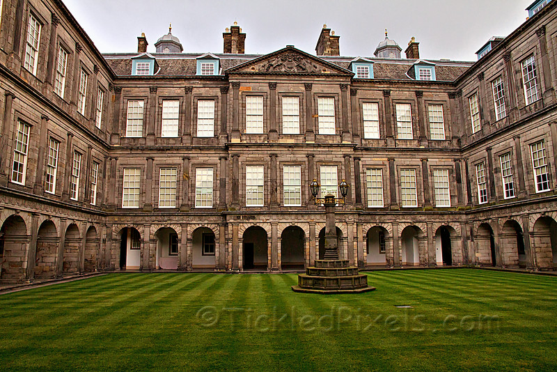 The Quadrangle, Holyrood Palace