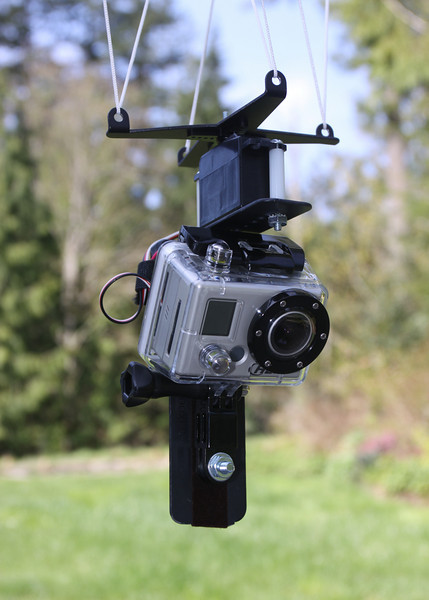 GoPro Hero HD with rig