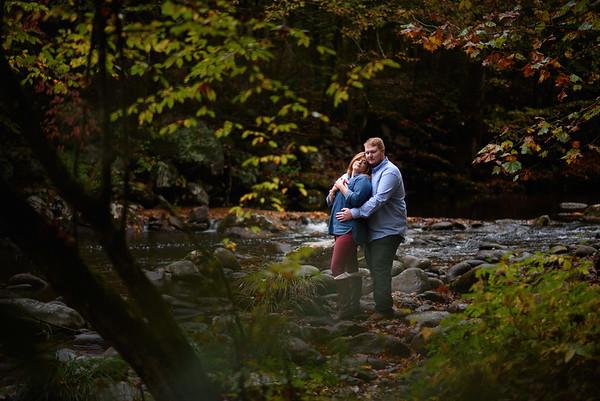 Megan and Ryan, Cades Cove, TN