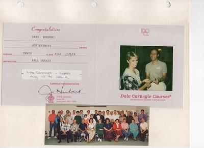 11-2-1993 Dale Carnegie Course @ Joplin