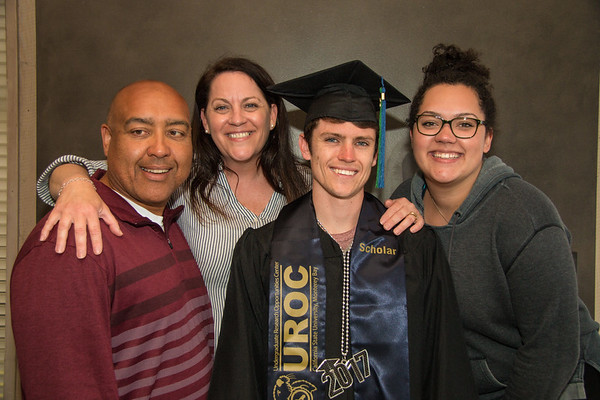 Aidan Shands CSUMB Graduation, May 2017