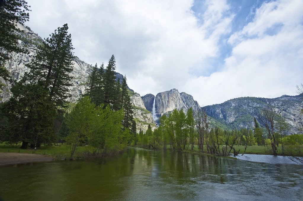 Merced River from Swinging Bridge - Spring '10