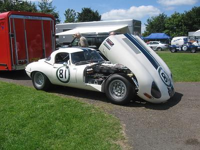 Castle Combe Classic car racing