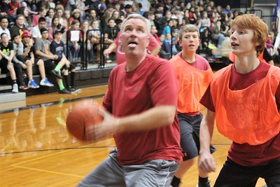 HMS Staff vs. Student Basketball Game, 12/20/2016