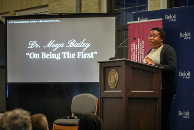 Beloit College: Dr. Moya Bailey - On Being The First