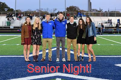 2019-2020 Cross Country Senior Night
