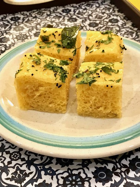 Khaman Dhokla - Indian snack