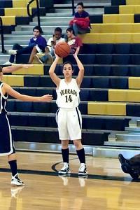 Basketball Verrado JV Girls vs Higley 1/13/2011