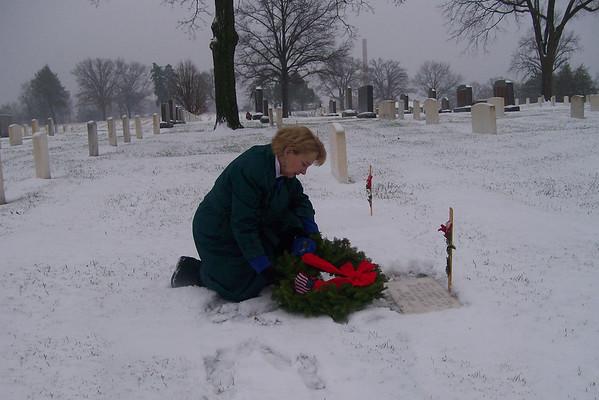 Wreaths Across America - December - 2007